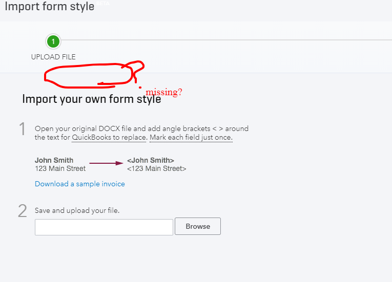 I Can Only Import Own Invoice Form Style How Can I Import Own E - Quickbooks invoice forms