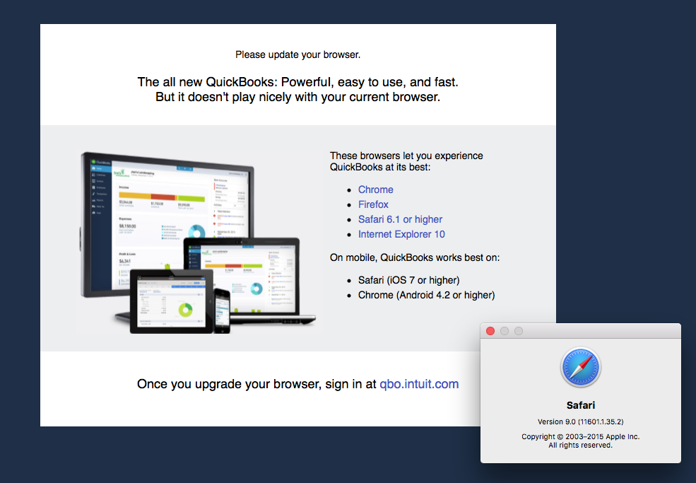 Quickbooks online doesnt let me connect with safari 9 quickbooks screenshot2015 06 30125224g thecheapjerseys Gallery