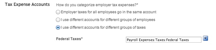 separate payroll tax expense accounts online quickbooks learn
