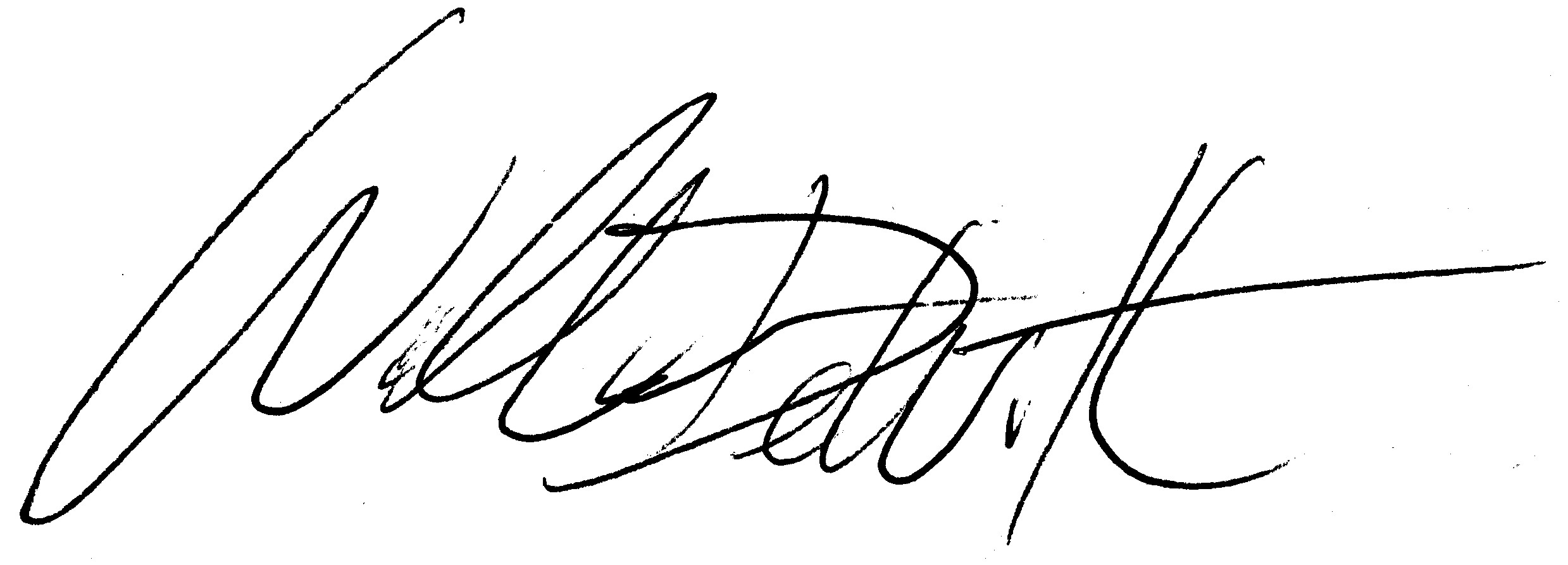 Is it possible for me to have my actual handwritten signature sh ...