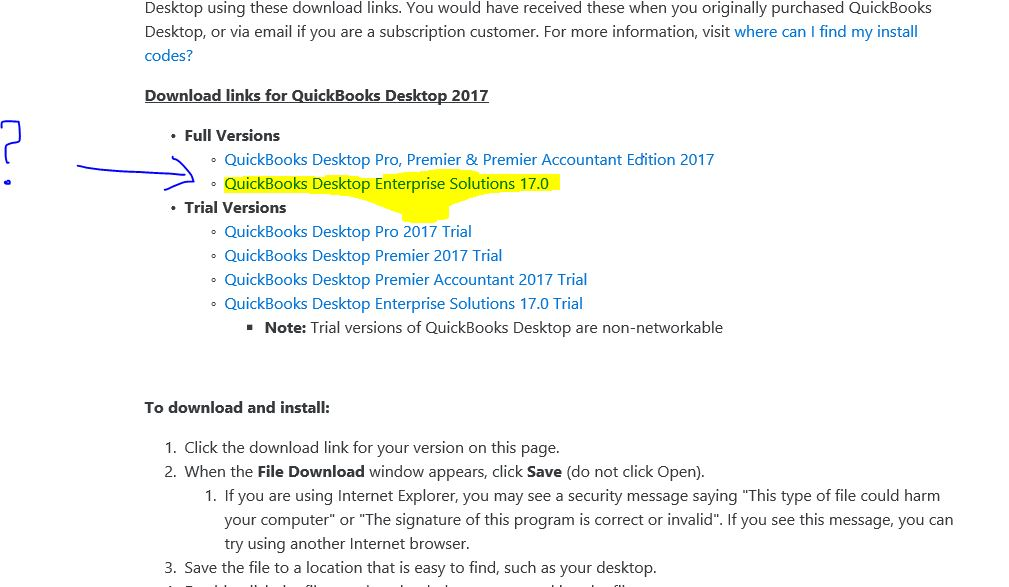 Can My Version Of Quickbooks Pro 2017 With Service Options For P