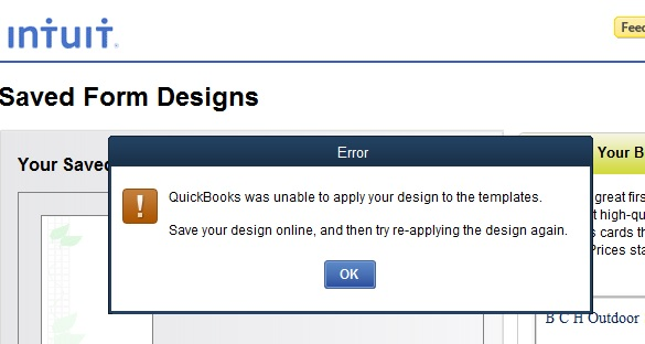 Can The Image Cause An Error In Designing An Invoice Template - Invoice templates for quickbooks