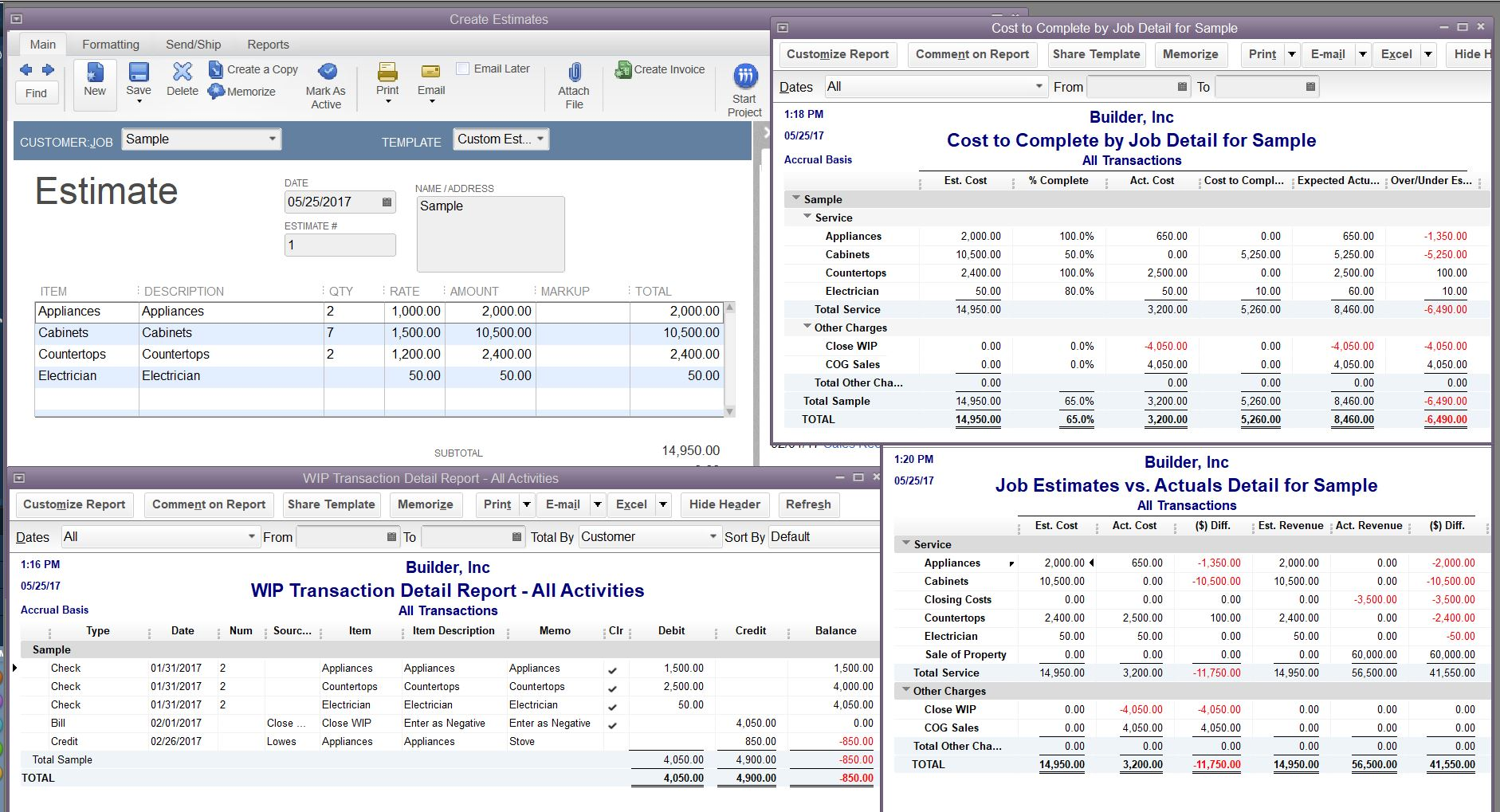 How To Tie Actual Cost Of Goods Sold To An Invoice QuickBooks - Create invoice in quickbooks online thrift store