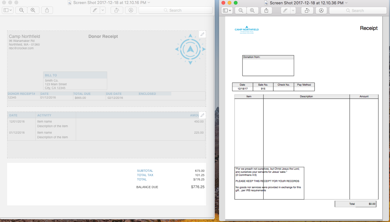editing the sales receipt template quickbooks learn support