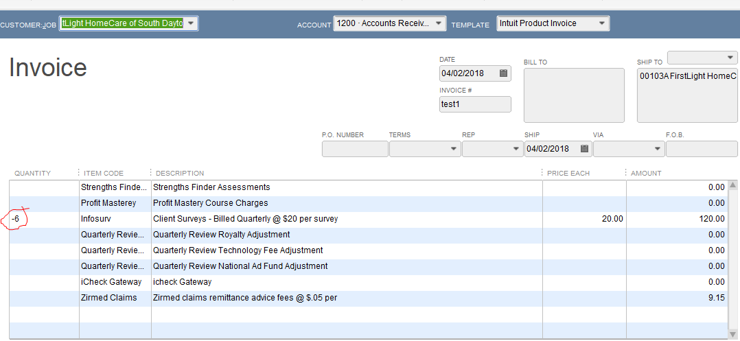 Importing A Iif Invoice File And Either The Qty Or Price Shows - Quickbooks iif file format